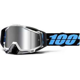 100% Racecraft Plus Injected Mirror Goggles daffed